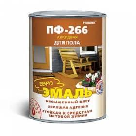 Эмаль ПФ-266 желто-коричневый 1,8кг