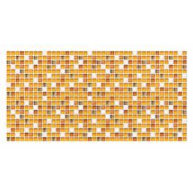 Панель ПВХ Мозаика янтарь 955*480мм.