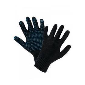Перчатки х/б черные