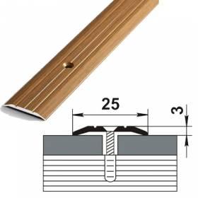 Порог ПС 01.1800.04 (25мм. бронза)