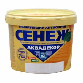 Сенеж АКВАДЕКОР иней 2.5кг