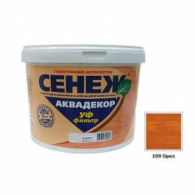 Сенеж АКВАДЕКОР орех 2.5кг