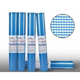 Сетка фасад.5х5ммх50м 160г/кв синяя