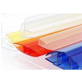Сотовый поликарбонат 4мм, ширина 2,1м, прозрачный (Кстово) лист 12м. продажа по  3,6,9,12м. (цена за 1м. погонный)