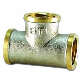 Тройник STI 15 никелир.