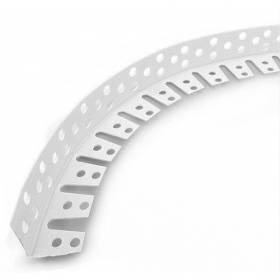Угол арочный перф.. 25*25 3м.белый