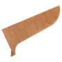 Заглушка левая  639 орех перуанский